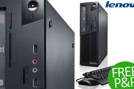 Box.co.uk - Lenovo ThinkCentre M73 Small Form Factor Desktop - Save 3%