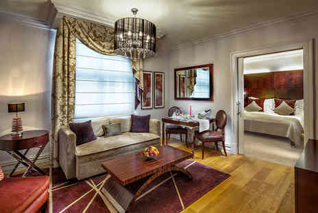 The Grand Mark Prague - Five Star Baroque Luxury Stay For Two in City Centre - Save 70%