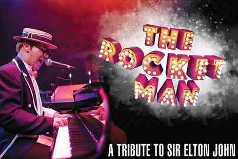 ATG Tickets - A Band A ticket to The Rocket Man A Tribute to Sir Elton John - Save 50%