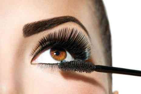For Him & Her Beauty Clinic -Individual eyelash extensions or semi permanent eyelashes, both with an eyebrow wax - Save 60%