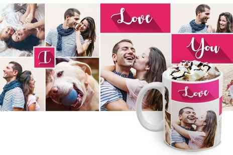 Printerpix - Personalised Photo Collage Mug - Save 50%