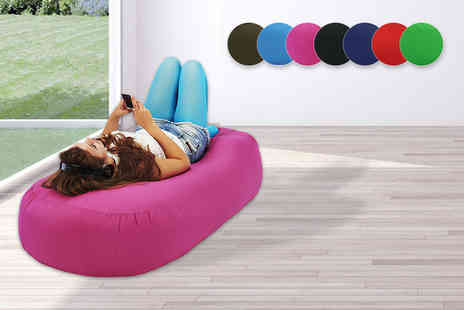 UK Beanbags - XXL indoor and outdoor beanbag bed sofa choose from seven colours - Save 68%