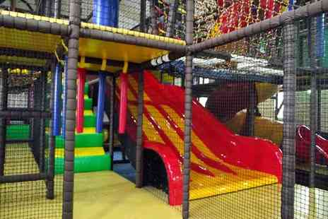 The Ark - Four kids soft play passes - Save 65%
