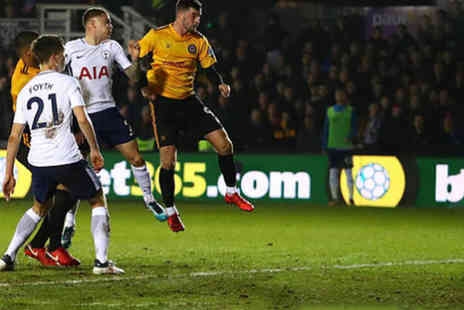World Choice Sports - Premium ticket to see Tottenham Hotspur vs. Newport County with overnight London stay - Save 28%