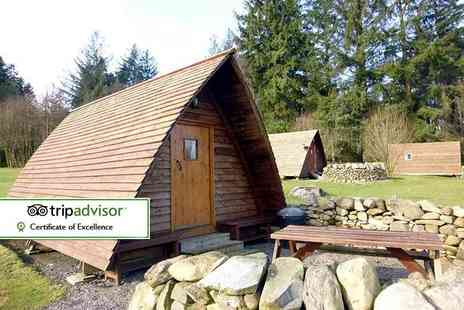 Barnsoul Caravan Park - Two or three night glamping stay for two in an Apex Pod - Save 41%