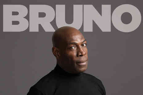 ATG Tickets - Ticket to see Frank Bruno: Let Me Be Frank on Thursday 8th February - Save 52%