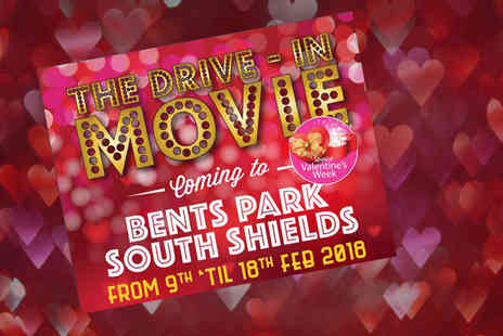 The Drive In Movie - Drive in cinema ticket for one car with up to seven passengers from the 9th to the 18th February - Save 48%
