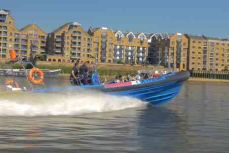 City Cruises - Jet Boat Thames Tour for Two - Save 24%