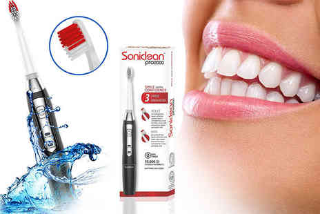 Easy Wellbeing - Soniclean pro 2000 toothbrush - Save 48%