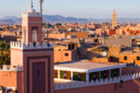 Fleetway Travel - 5star holiday to Marrakech including breakfast and return flights - Save 50%