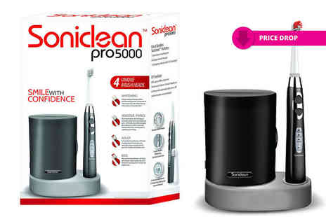 Easy Wellbeing - Brush Buddies Soniclean Pro 5000 dental kit - Save 63%
