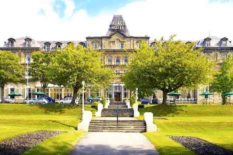 The Palace Hotel Buxton - One or Two Nights Stay for Two with Breakfast, Bottle of Wine and Option for Dinner - Save 0%
