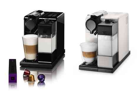 Groupon Goods Global GmbH - DeLonghi Nespresso Lattissima Touch Coffee Machine With Free Delivery - Save 29%