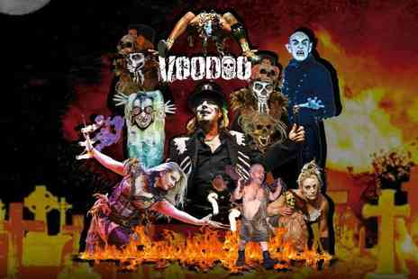 ATG Tickets - Ticket to Circus of Horrors Voodoo choose from two locations - Save 50%