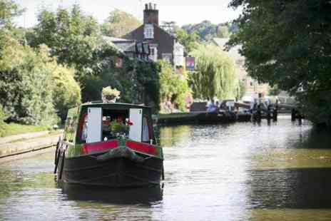 Norbury Wharf - One day narrow boat hire for up to 10 people on the Shropshire Union Canal - Save 44%