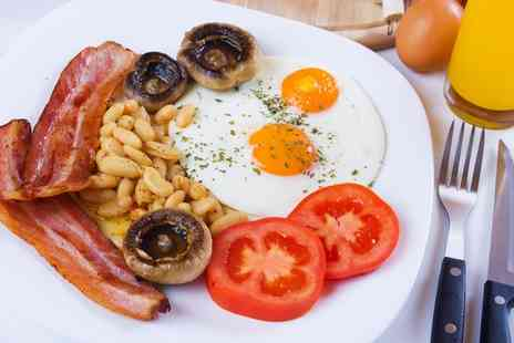Caffe Latte Barking - Full English breakfast with coffee for two - Save 64%