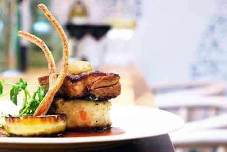 The White Horse - Three course dinner for 2 at former coaching inn - Save 49%