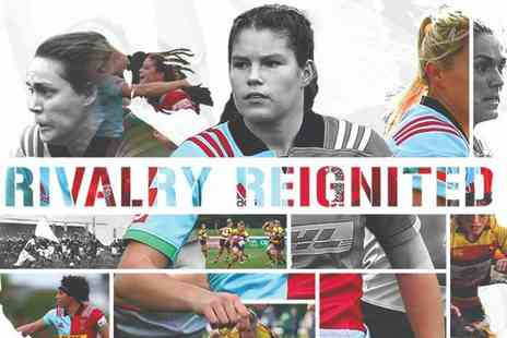 Harlequins Football Club - Two adult tickets to the Harlequin Ladies vs Richmond Ladies rugby game on Sat 10th March 2018 - Save 50%