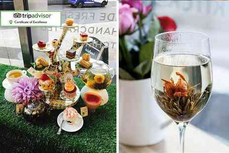 To A Tea - Mad Hatters themed afternoon tea for two including bottomless Prosecco - Save 57%