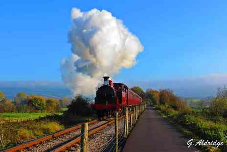Avon Valley Railway - Two all day rover tickets on Avon Valley Steam Train or family of up to six - Save 50%