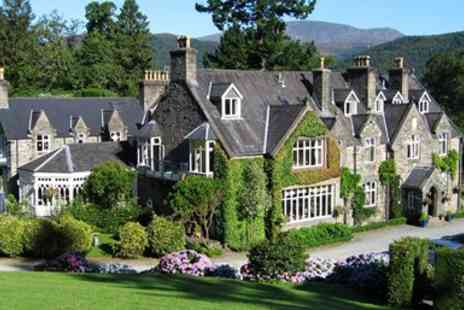 Penmaenuchaf Hall Hotel - Two night Snowdonia break with meals & bubbly - Save 51%