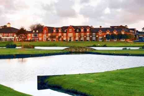 Formby Hall Golf Resort & Spa - Coastal break with spa treatment & meals - Save 0%