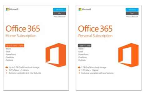 8keys - Microsoft Office 365 Personal or Home Subscription for One Year - Save 0%