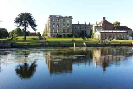 Stoneleigh Abbey - Grounds Entry with Traditional or Sparkling Afternoon Tea for Two - Save 52%