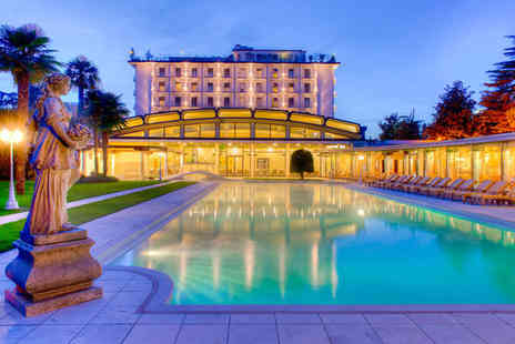 Hotel President Terme - Five Star Relaxation in Italian Spa Town For Two - Save 55%