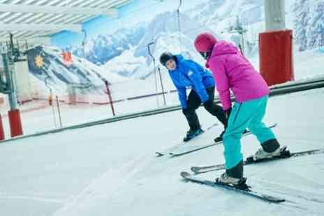 The Snow Centre - One or Six Two Hour Ski or Snowboard Adult Group Lessons for One - Save 51%
