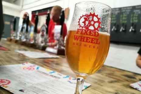 Fixed Wheel Brewery - 90 Minute Brewery Tour with Free Flowing Beer Tasting for Up to Four - Save 0%