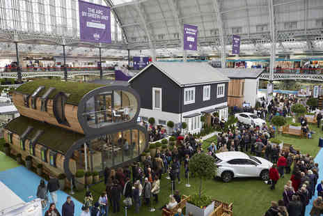 Media 10 - Two weekday or two weekend tickets to the Ideal Home Show plus an Ideal Home Magazine - Save 53%