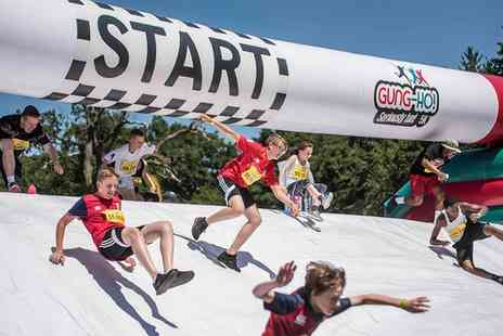 Be Gung Ho - 5K inflatable obstacle course on 24 March in Windsor - Save 28%