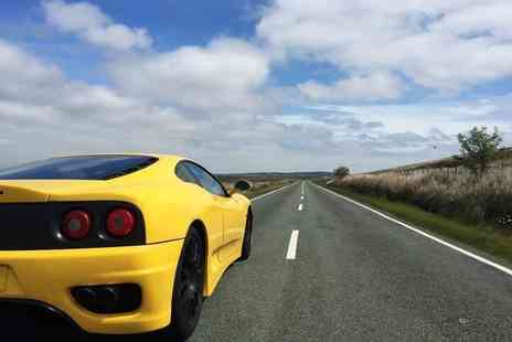 Golden Moments - 20 or 35 minute Ferrari motorway driving experience - Save 60%