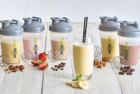 Groupon Goods Global GmbH - Diet Now Two, Four, Six or Eight Week Meal Replacement Shake Plan with Free Shaker - Save 57%