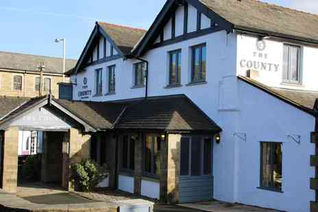 The County Lodge and Brasserie - Silver or Gold Wedding Package - Save 39%