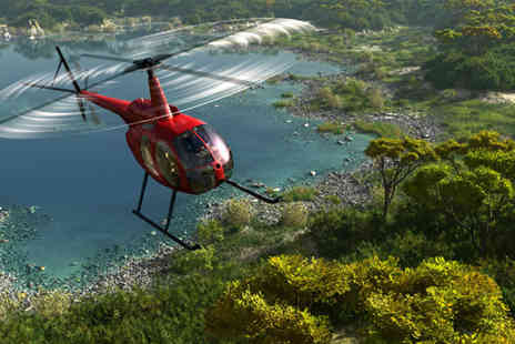Adventure 001 - 45 minute helicopter flying lesson - Save 50%