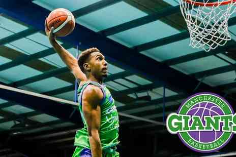 Manchester Giants - One junior ticket with pre-game coaching to a choice of Manchester Giants game on 30 March To 29 April - Save 29%