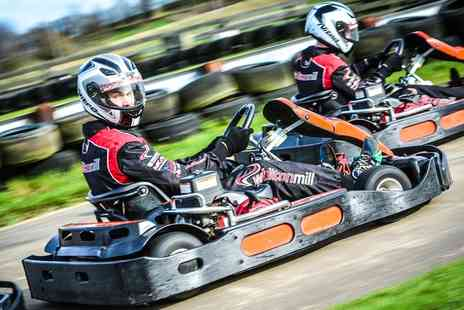 Whilton Mill - 30 Laps of Go Karting for Up to Eight - Save 0%