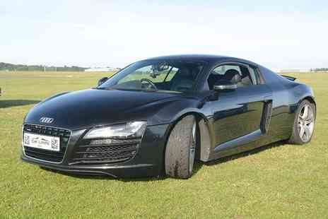 Supercar Test Drives - 3 lap Audi R8 v10 supercar driving experience - Save 74%