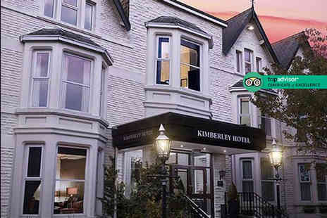 The Kimberley Hotel - Afternoon tea for two or include a glass of Prosecco each - Save 38%