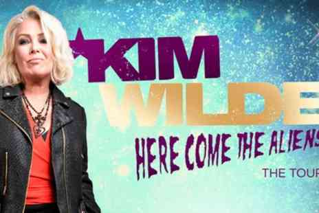 Live Nation HQ - Kim Wilde, Here Come The Aliens Tour on 30 March to 30 April - Save 9%