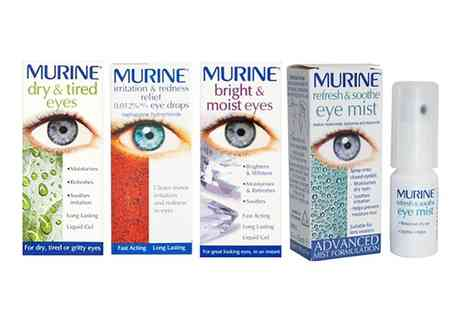 Pharmacy First - Murine Eye Drop Range - Save 35%