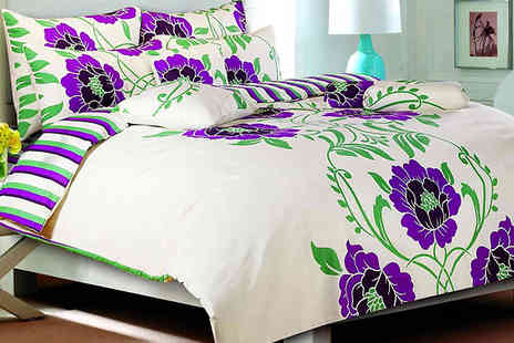 luxury bed and warehouse - Shelly Duvet Bedding Set Available in 2 Colours - Save 73%