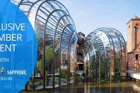 Bombay Sapphire Distillery - Two hour hosted experience at Bombay Sapphire Distillery exclusive Travelzoo event - Save 0%