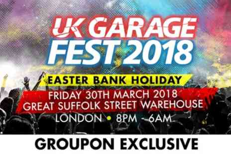Festivus - UK Garage Festival with £10 Drinks Voucher, Friday 30 March - Save 47%