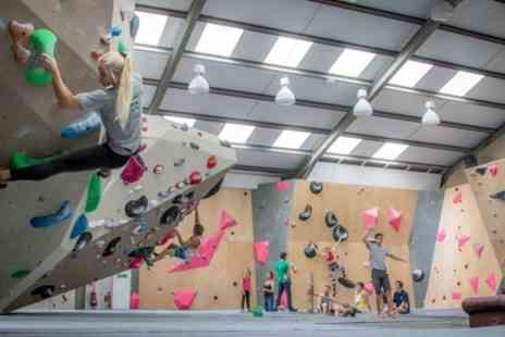 Chimera Climbing - Adult Climbing Day Pass and Shoe Hire for One, Two or Four - Save 59%