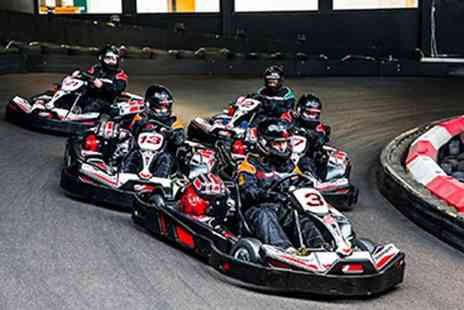Red Letter Days - Indoor karting experience for two - Save 0%