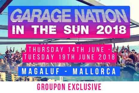 Festivus - Garage Nation In The Sun, Gold, Silver or Full Day Pass on 14 to 19 June - Save 35%