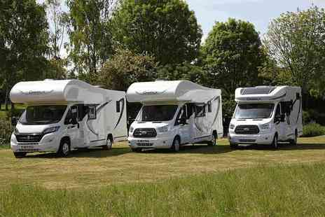 National Motorhomes - Luxury three night motorhome hire for two, four or six people - Save 50%